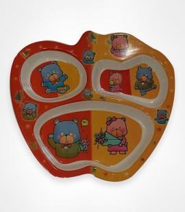 DINE SMART - APPLE BABY PLATE