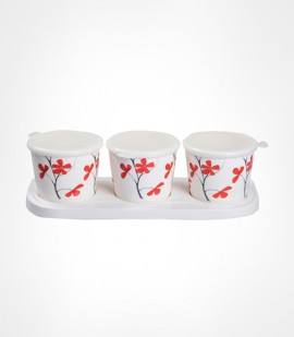 DINE SMART - JAR SET (3 Pcs)