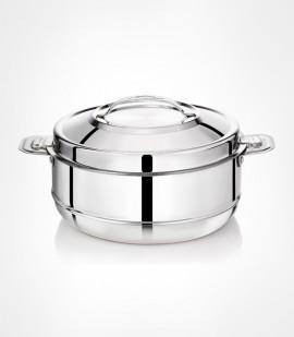 Elite serving bowl stainless steel