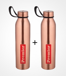 PREMIER COPPER BOTTLE 1000ML 2PCS