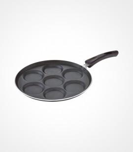 Non-stick mini uthappam / pancake pan - 7 cavity