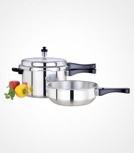 5 litre pressure cooker + pressure pan small