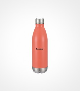 Vacuum insulated color bottle