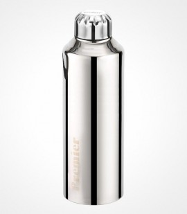 PREMIER 1000ml STAINLESS STEEL WATER BOTTLE - PLAIN
