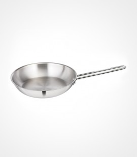 3-ply clad stainless steel fry pan tpf-24