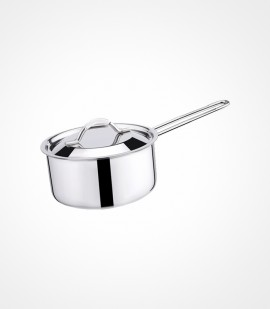 3-ply clad stainless steel sauce pan tps