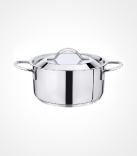 3-ply clad stainless steel stew pot tpc-20