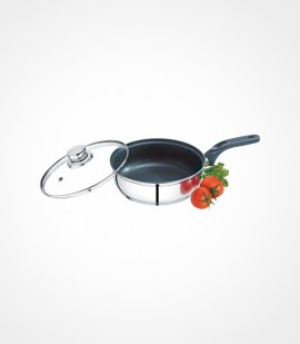 PREMIER DEEP FRY PAN WITH NON-STICK COATING 24 CM