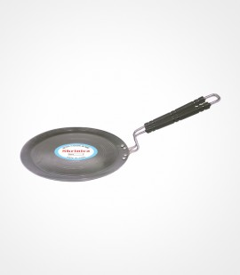 SS HANDLE IRON INDUCTION BASE TAWA 10-INCH