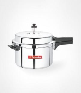 Premier Netraa Aluminium Pressure Cooker  (5.5Ltrs)