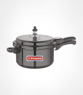 3 Ltr Premier Trendy black  Hard Anodised Pressure cooker