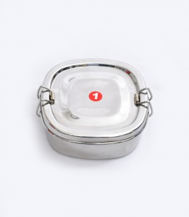 STAINLESS STEEL SQUARE FOOD PACK