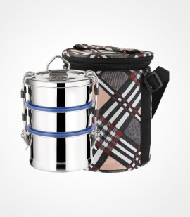 Shrinica Stainless Steel Lunch Box Triple Decker